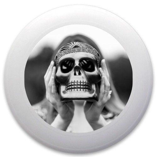 Design #62916 (Skull) Discraft Ultrastar Ultimate Frisbee