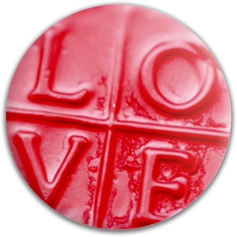 Design #63663 (Love) Dynamic Discs Fuzion Convict Driver Disc