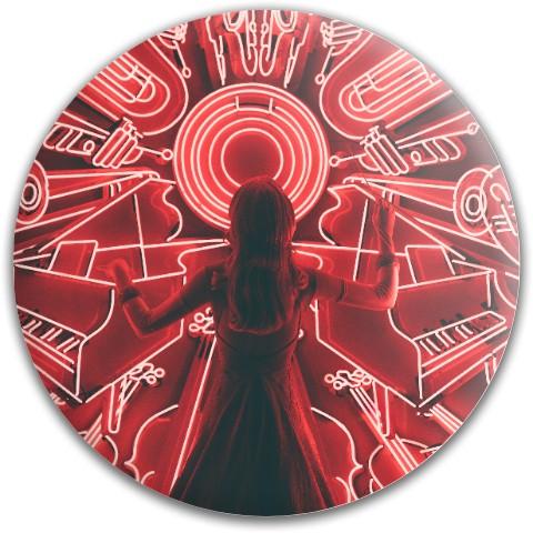 Design #64571 (Music) Dynamic Discs Fuzion Truth Midrange Disc