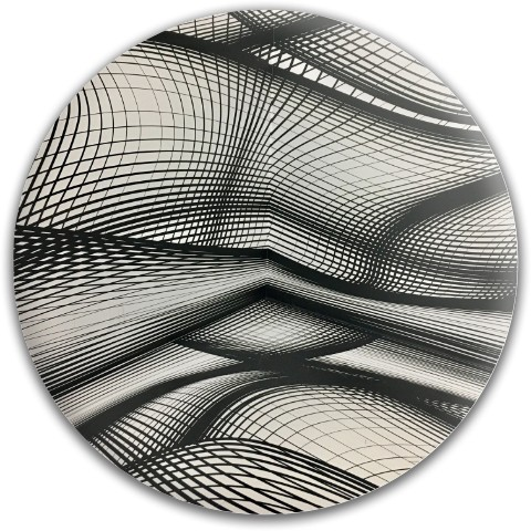 Design #64937 (Optical Illusion) Dynamic Discs Fuzion Truth Midrange Disc