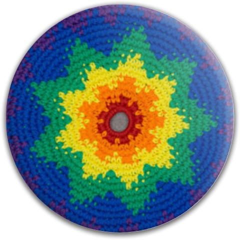Crochet Disc Dynamic Discs Fuzion Sheriff Driver Disc