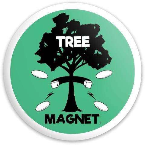 Tree Magnet Latitude 64 Gold Line River Driver