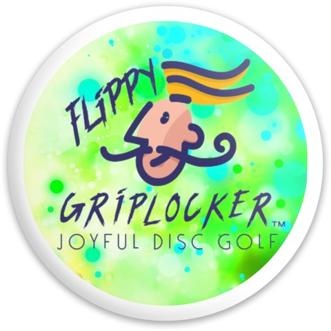 Flippy Griplocker Logo Disc Latitude 64 Gold Line Diamond Driver Disc