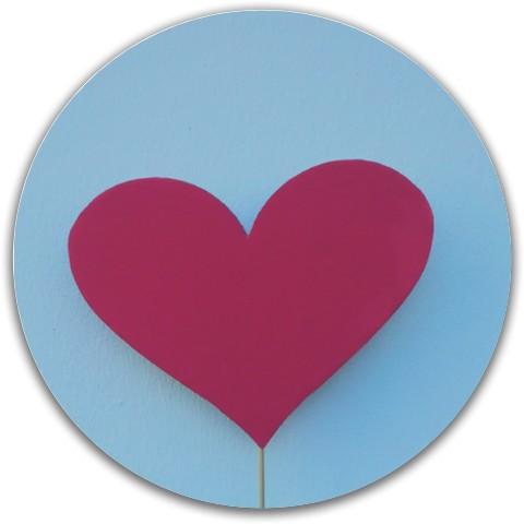 Love disc Dynamic Discs Fuzion Justice Midrange Disc