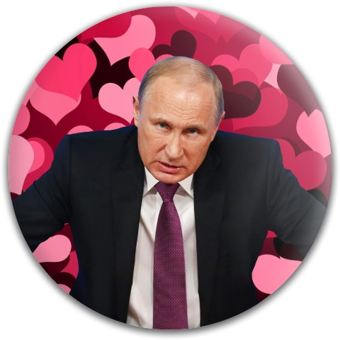 Putin on the Disc Dynamic Discs Fuzion Warden Putter Disc