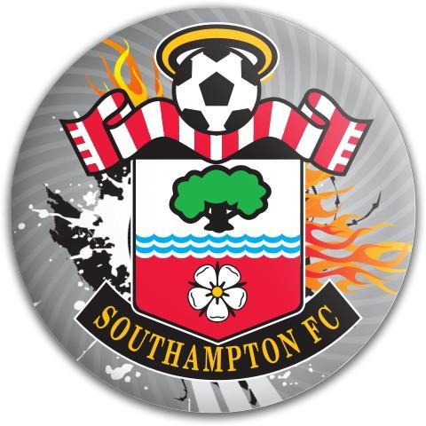 SaintsFC Dynamic Discs Fuzion Warden Putter Disc