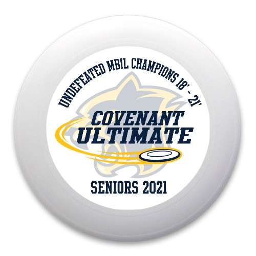2021 Senior Ultimate Gift Ultimate Frisbee