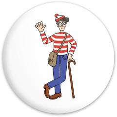 Found Waldo Dynamic Discs Vandal Driver Disc