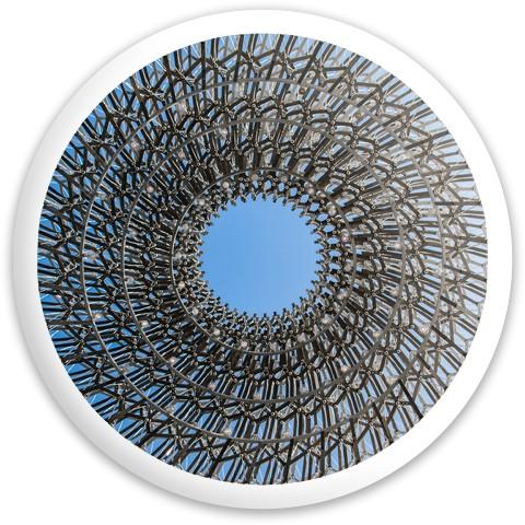 Optical illusion disc Dynamic Discs Fuzion Sheriff Driver Disc