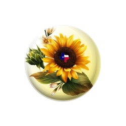 Texas Sunflower Dynamic Discs Judge Mini Disc Golf Marker