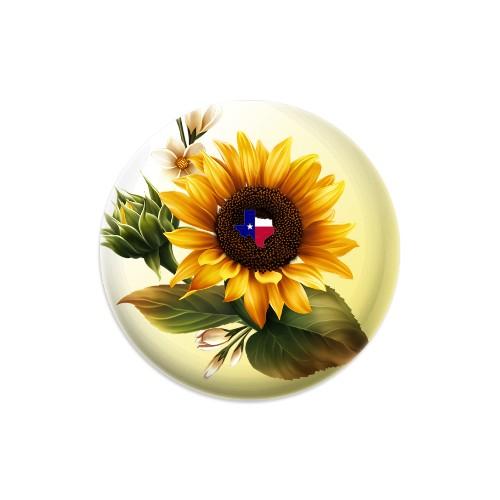Texas Sunflower Dynamic Discs Judge Mini Disc Golf Marker