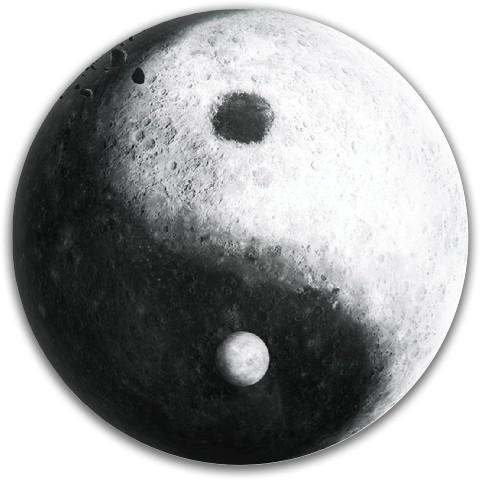 Yin Yang Moon Dynamic Discs Fuzion Felon Driver Disc