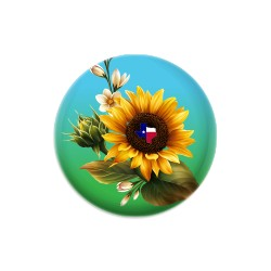 Texas Sunflower Color Dynamic Discs Judge Mini Disc Golf Marker