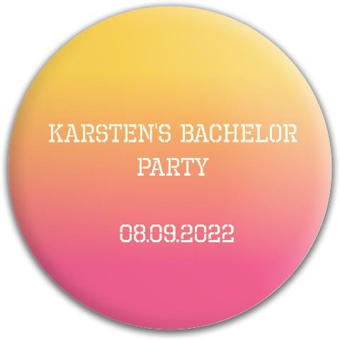 Karsten Bachelor party Dynamic Discs Fuzion Felon Driver Disc