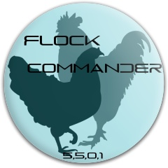 Flock commander Latitude 64 Gold Line Compass Midrange Disc