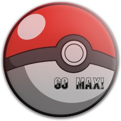 Go Max! pokeball Latitude 64 Gold Line Pure Putter Disc