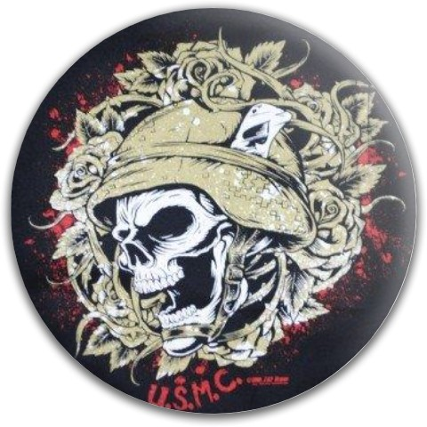 USMC Dynamic Discs Fuzion Warden Putter Disc