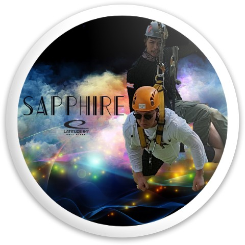 Latitude 64 Opto Sapphire Driver Disc