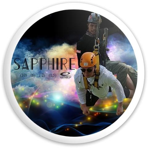Eivind Flyr Latitude 64 Opto Sapphire Driver Disc