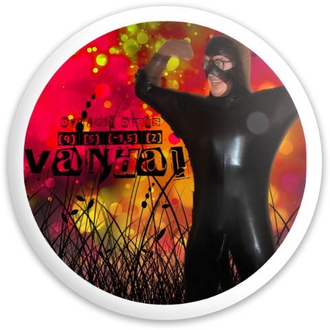 Haaki suit Dynamic Discs Vandal Driver Disc