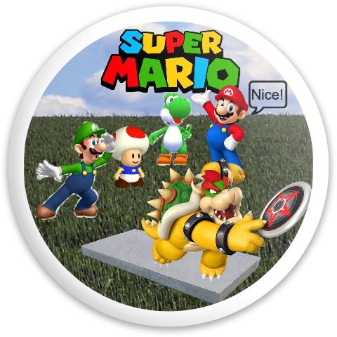 Mario Nices Bowser Latitude 64 Opto Sapphire Driver Disc