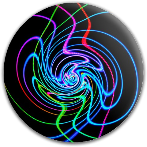 Optical illusion disc Dynamic Discs Fuzion Felon Driver Disc