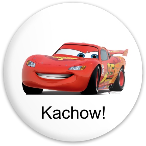 Lightning McQueen driver Dynamic Discs Maverick Driver Disc