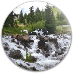 Jeep Dynamic Discs Fuzion Judge Putter Disc