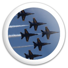 Blue Angels San Fran Discraft Buzzz Midrange Disc