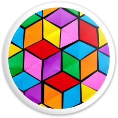 Optical illusion disc Dynamic Discs Fuzion Trespass Driver Disc