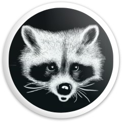 Raccoon Dynamic Discs Fuzion Trespass Driver Disc
