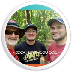 Dads birthday Dynamic Discs Sergeant Driver Disc