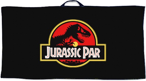 Jurassic Par Custom Disc Golf Towel