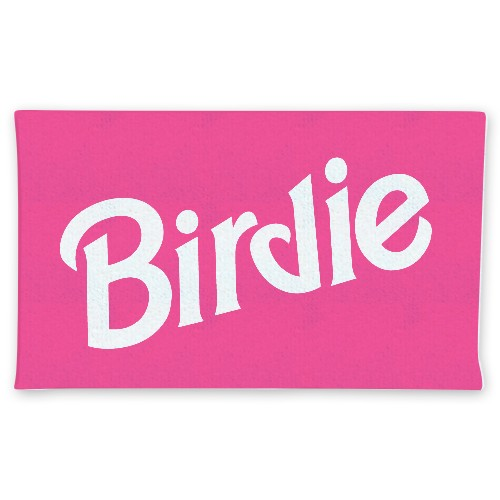 Birdie Plush Towel Custom Disc Golf Towel
