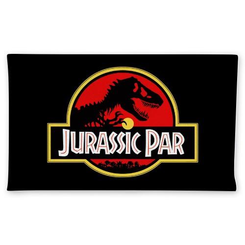 Jurassic Par Plush Towel Custom Disc Golf Towel