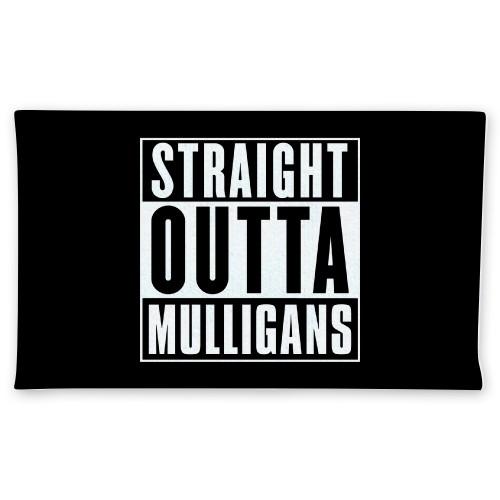 Straight Outta Mulligans Plush Towe Custom Disc Golf Towel