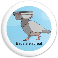 Birds aren't real Dynamic Discs Sergeant Driver Disc