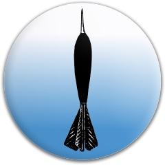 The Dart Dynamic Discs Fuzion Judge Putter Disc