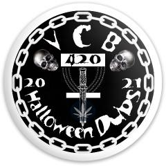 VCB Halloween Dubs Fly Discs Disc