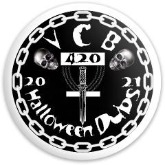 VCB Halloween Dubs 2021 Fly Discs Disc