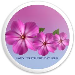 Birthday Fly Discs Disc