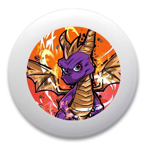 Spiro the dragon Ultimate Frisbee