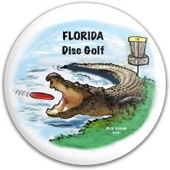 Florida Disc Golf Latitude 64 Gold Line Compass Midrange Disc