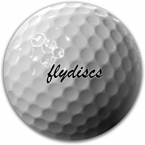 Golf Ball Disc Dynamic Discs Fuzion Suspect Midrange Disc