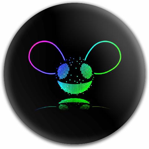 deadmau5 multicolor Dynamic Discs Fuzion Truth Midrange Disc