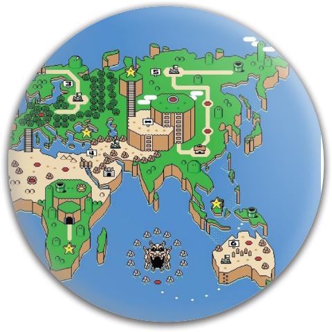 Super Mario Real World Putter MVP Neutron Medium Ion Putter Disc