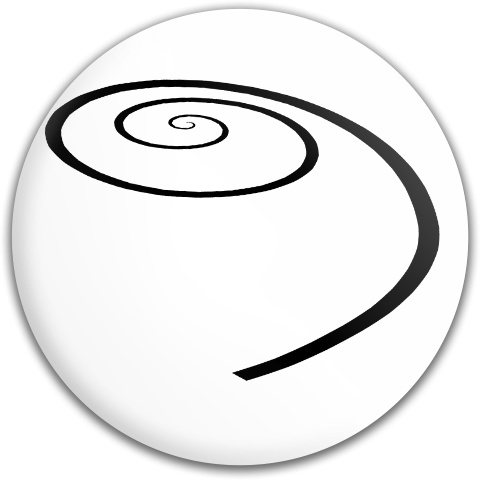 Spiral of Life by Spooky Dream Dynamic Discs Fuzion Judge Putter Disc