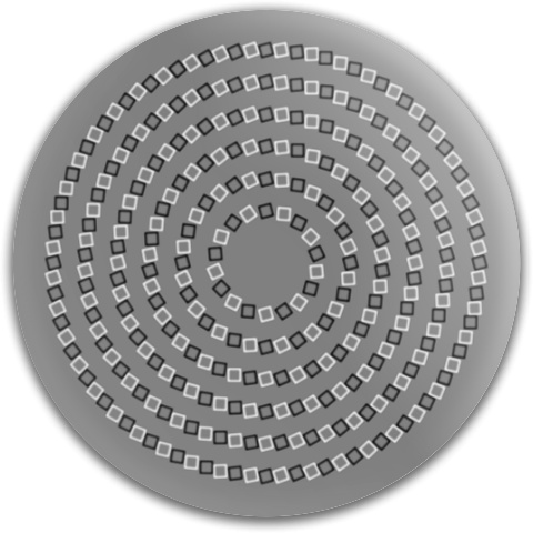 Spiral of Squares Dynamic Discs Fuzion Judge Putter Disc