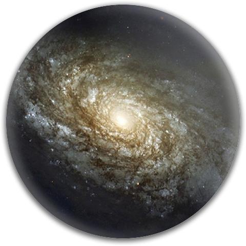 Spiral Galaxy Latitude 64 Gold Line Scythe Driver Disc
