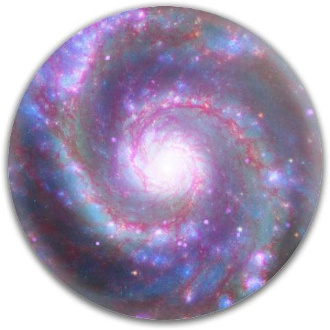 Galaxy Spiral MVP Neutron Volt Driver Disc